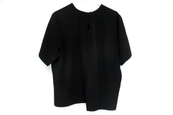 Vintage Witt Collection Women's Sophisticated Blouse Solid Black 18W Business