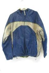 Vintage Columbia Jacket Sportswear Men's Windbreaker Size XL Hooded Blue