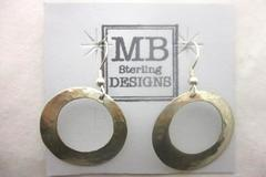 MB Sterling Designs Earrings Hand Crafted Silver Pierced Ears