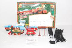 Scientific Toys Christmas Train Set Christmas Carols Battery Operated Incomplete