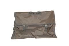 Atlantic Expandable Travel Bag Olive Green Nylon Folding Garment Suit Dress