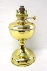 Light Weight Brass Kerosene Oil Lamp No Globe