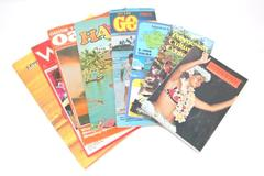 Lot of 8 Vintage 1980s Hawaii Books Travel Guides Brochures