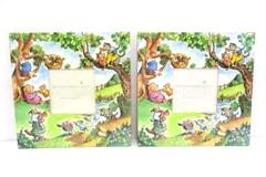 "Set of 2 R.W. Alley Photo Frames 3"" by 3"" Michel Publishing Children's NEW"