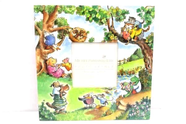 """Set of 2 R.W. Alley Photo Frames 3"""" by 3"""" Michel Publishing Children's NEW"""
