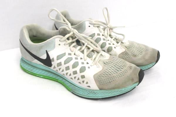 NIKE Zoom Pegasus 31 Women's Size 10 Gray Green Running Shoes 654486-103
