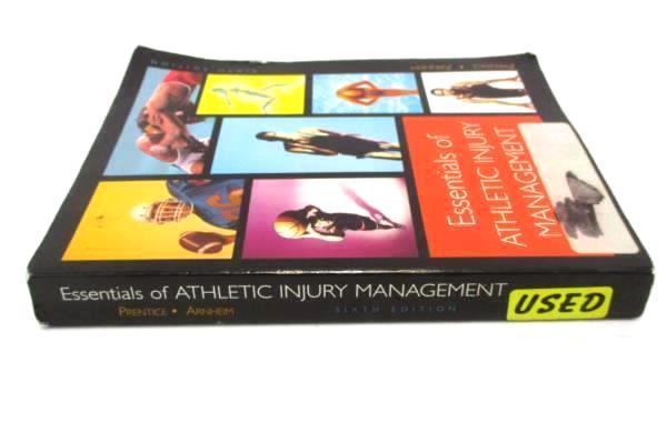 Essentials of Athletic Injury Management Prentice & Arnheim 6th Ed McGraw Hill