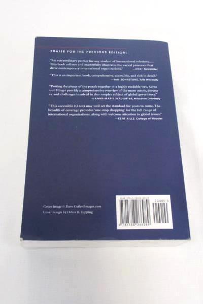 International Organizations Politics and Processes of Global Governance Textbook