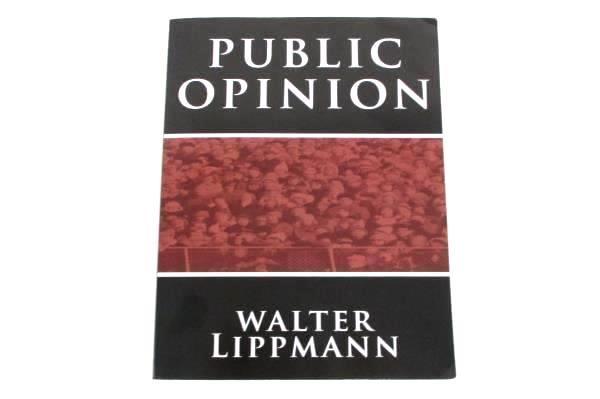 Public Opinion by Walter Lippmann BN Publishing 2010 Soft Cover