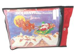 50 Piece Christmas Floor Puzzle Santa In His Sleigh Delivering Gifts 2' x 3'