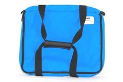 Pyrex Portables PVC Insulated Carrying Case Blue Hot Pad Pocket Handles