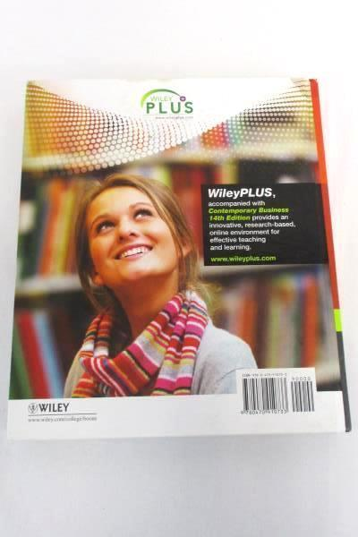 Boone & Kurtz Contemporary Business 14th Edition Annotated Instructor's Textbook