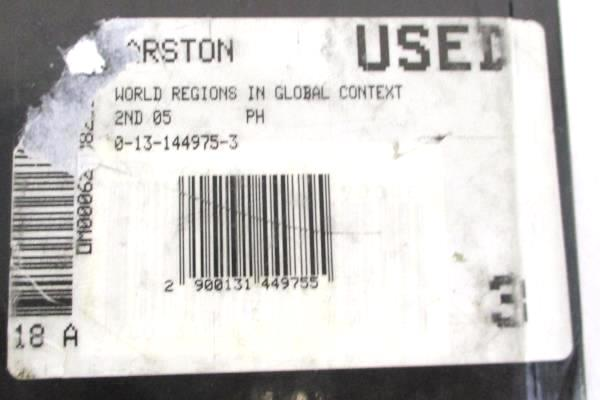 World Regions in Global Context 2nd Edition Textbook People Places Environments