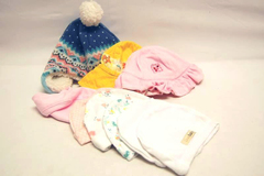 Lot of 9 Baby Girl Caps Hats Beanies John Lewis Carters Loved Baby