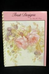 Fruit Designs by Marcella Wing Spiral Bound Book Fruit Painting Instruction