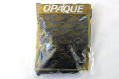 Vintage Silkies Opaque Nylons Black Women's Size Medium 050228