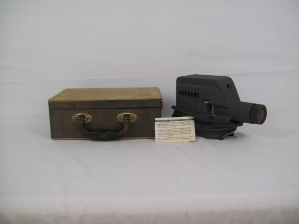 1950's Skan Slide Projector No. SP-200A Works In Original Box