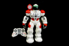 Rocket Guardian Xbots Programmable Robot Toy With Remote Toy White Red