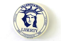Villeroy & Boch 1982 Centennial Button Pin Pinback