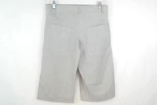 Women's JPARK Bermuda Shorts Flat Front Khaki 100% Cotton Size 2 with Tag