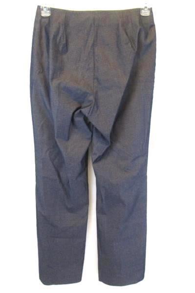 Karen Kane Lifestyle Slate Blue High Waist Trouser Pants Women's Slacks Size 6