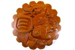 Handmade Carved Wood Wall Hang San Jose Succotz Belize South America