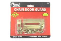 Brass Plated Chain Door Guard Security Lock No. 601 Steel Chain