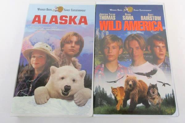 Lot of 6 Disney WB Fox VHS Movies Western Comedy Goldrush Alaska Snowy River
