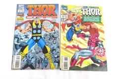 Lot of 2 Marvel Comic Books Featuring The Mighty Thor