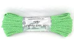 Atwood Tactical Rope Mfg. 100 ft 550 paracord 7 strand core Green Made USA