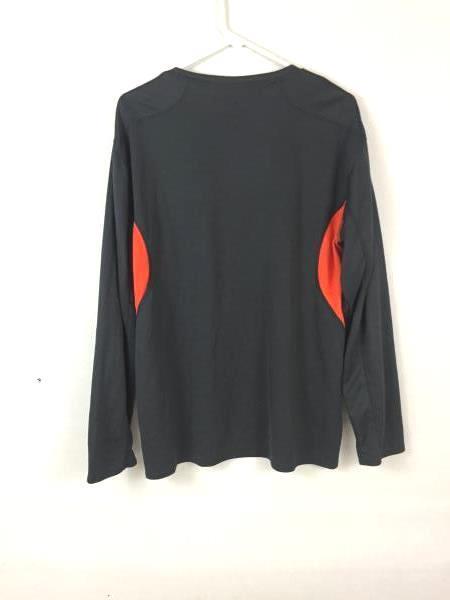 ProEdge Men's Grey & Orange Beavers Long Sleeve Sweater Shirt Size L