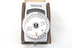 YASHICA YEM 35 Super Shoe Mount Light Meter and Case
