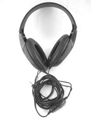 Labtec Headphones LT-825 Wired Over Ear Headphones Black Stereo Mono Tested