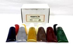 Granite 2 Go 12 Color Kit 1 Ounce Tubes Coloring Paste For Polyester Resin