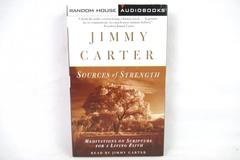 Jimmy Carter Sources of Strength Audio Book 2 Cassettes Meditations