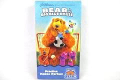 Bear in the Big Blue House Practice Makes Perfect VHS 2003 Jim Henson
