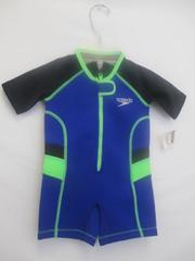 Speedo UV Thermal Suite Blue w/ Green Size 2T
