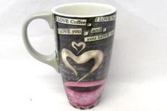 Lang I Love Coffee Latte Mug Cup Lisa Kaus 16 oz. Perfect Timing 2015