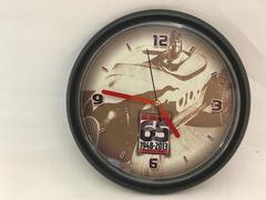 2013 Hot Rod Magazine Wall Clock Round Commemorating 65 Years Quartz Battery