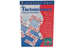 1997 Discovery Toys Tactominoes Preschool Game Kids Textured Dominoes