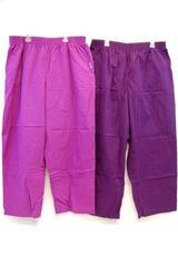 Lot of 2 UA Butter Soft Scrub Pants Women's Size 2XL Eggplant & Berry Burst