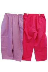 Lot of 2 UA Butter Soft Scrub Pants Women's Size 2XP Fuchsia Orchid Pockets