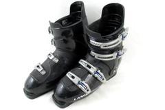 Lange Echo 5 Ski Boot Shells Only Size 27-28.5 Black Blue Multi Adjust