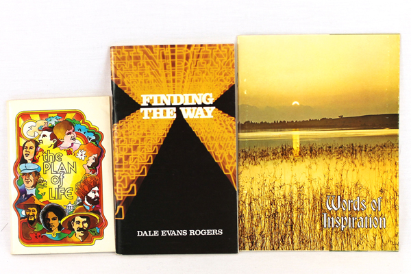 Lot of 3 Inspirational Spiritual Books Plan of Life Finding The Way
