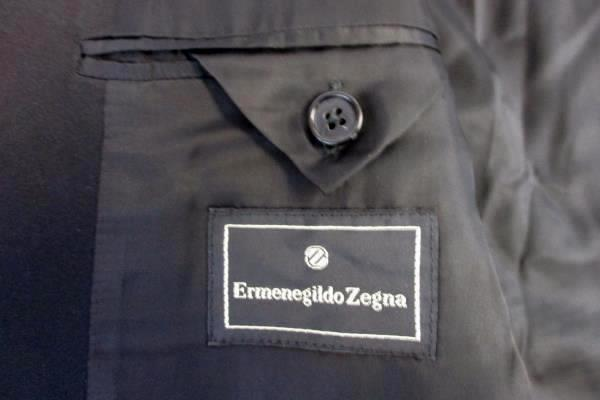 Ermenegildo Zegna Jacket Blazer Fine Worsted Super 100's Switzerland Men's 44 L