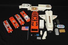 1997 Mattel Hot Wheels Mega Rig Space Shuttle Transporter Set Incomplete