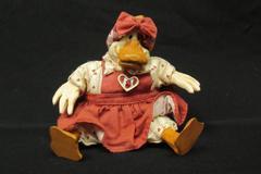 Russ Berrie Kathleen Kelly Critter Factory Country Folks Duck Heart Dress Shelf