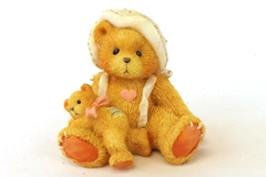 Cherished Teddies PHOEBE - A Little Friendship is a Big Blessing Figurine