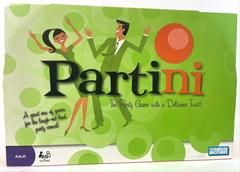 Parker Brothers Partini Board Game Complete Adult Sealed 2008 Party Fun