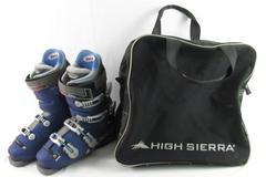 Lange CRL 80 Exclusive Ski Boots Women's Size 9.5 Bonus Bag High Sierra